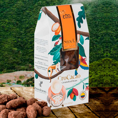 Crokakao – Caramelized Cacao Beans (100gr)