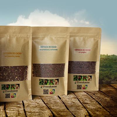 Infusiones de Cacao y Hierbas (50gr o 100gr)