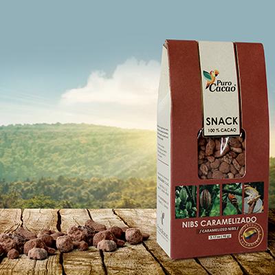 Nibs de Cacao Caramelizado (90gr)