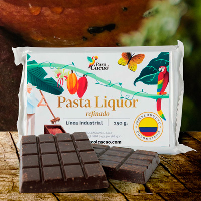 Licor or cacao mass